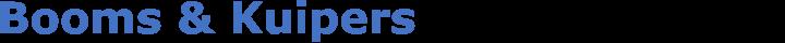Booms & Kuipers Technisch adviesbureau b.v. logo